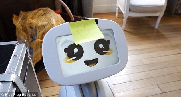 Buddy est un robot pour aider les seniors
